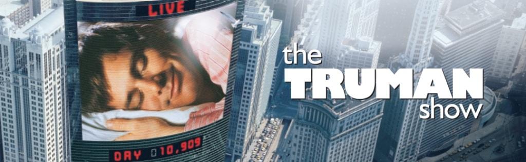 1998년 영화 트루먼쇼, The Trumanshow poster