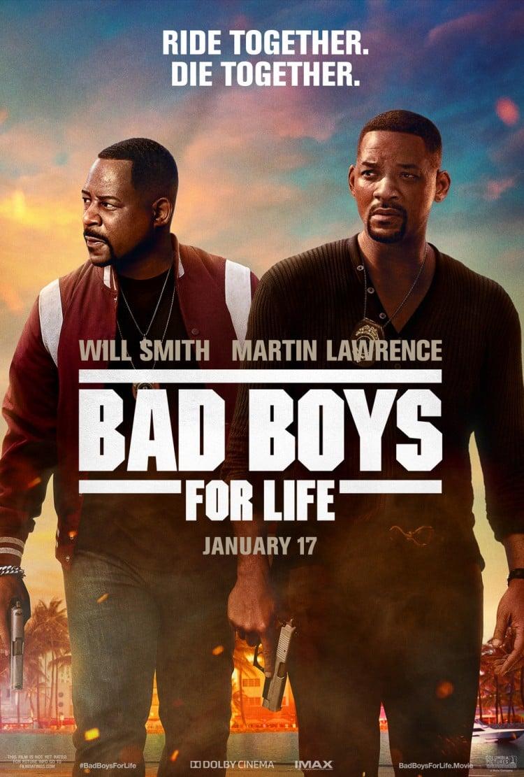2020년 소니에거 큰 수익을 안겨준 Bad Boys For Life poster, 2020, Image from IMDb