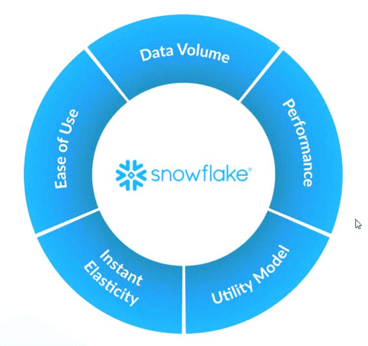 스노우플레이크 비즈니스 모델 특징, Image form snowflake